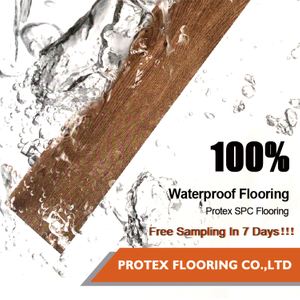 Protex Hot Sale Rigid Core Vinyl Plank Spc Flooring
